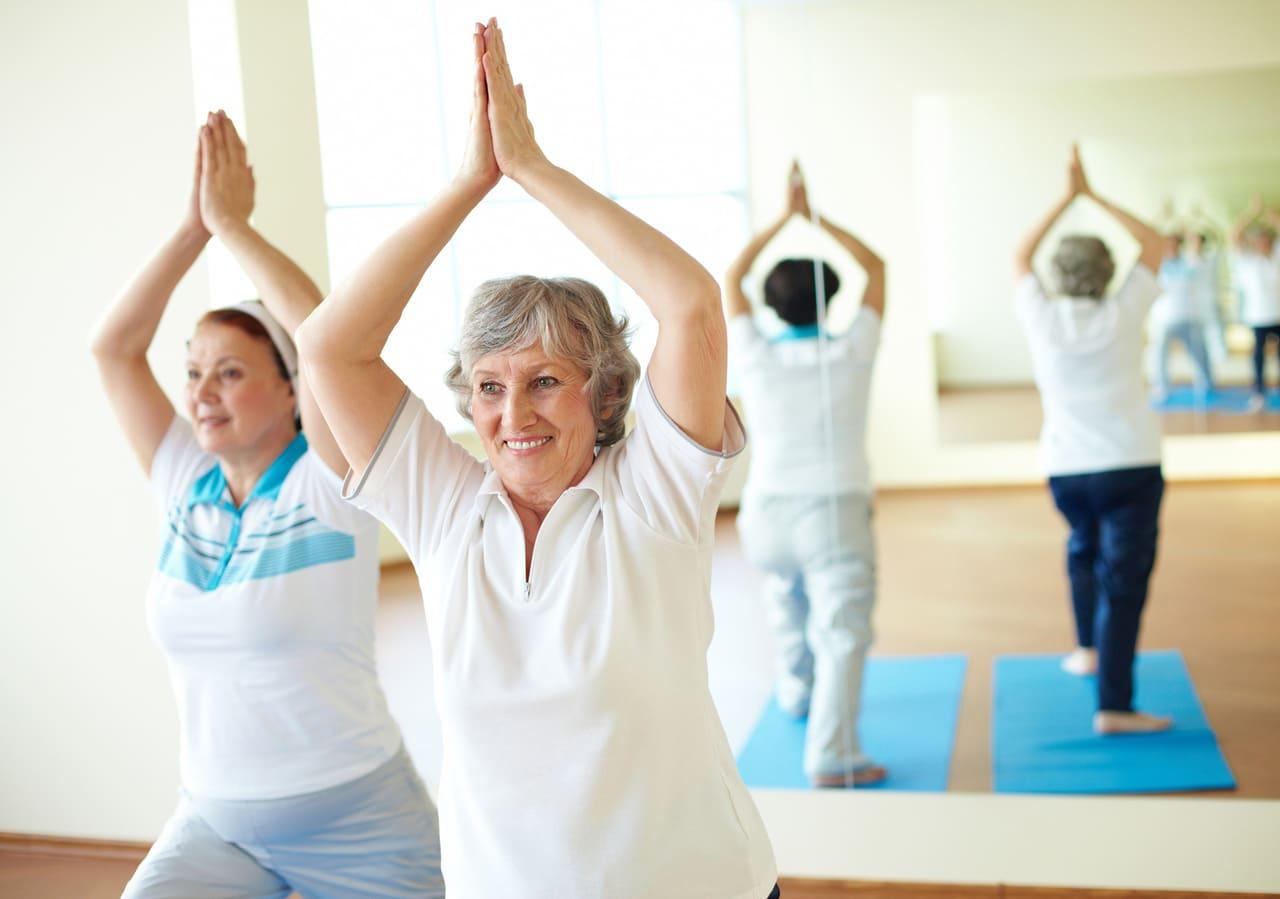 Фитнес для пожилых, пенсионеров в Архангельске