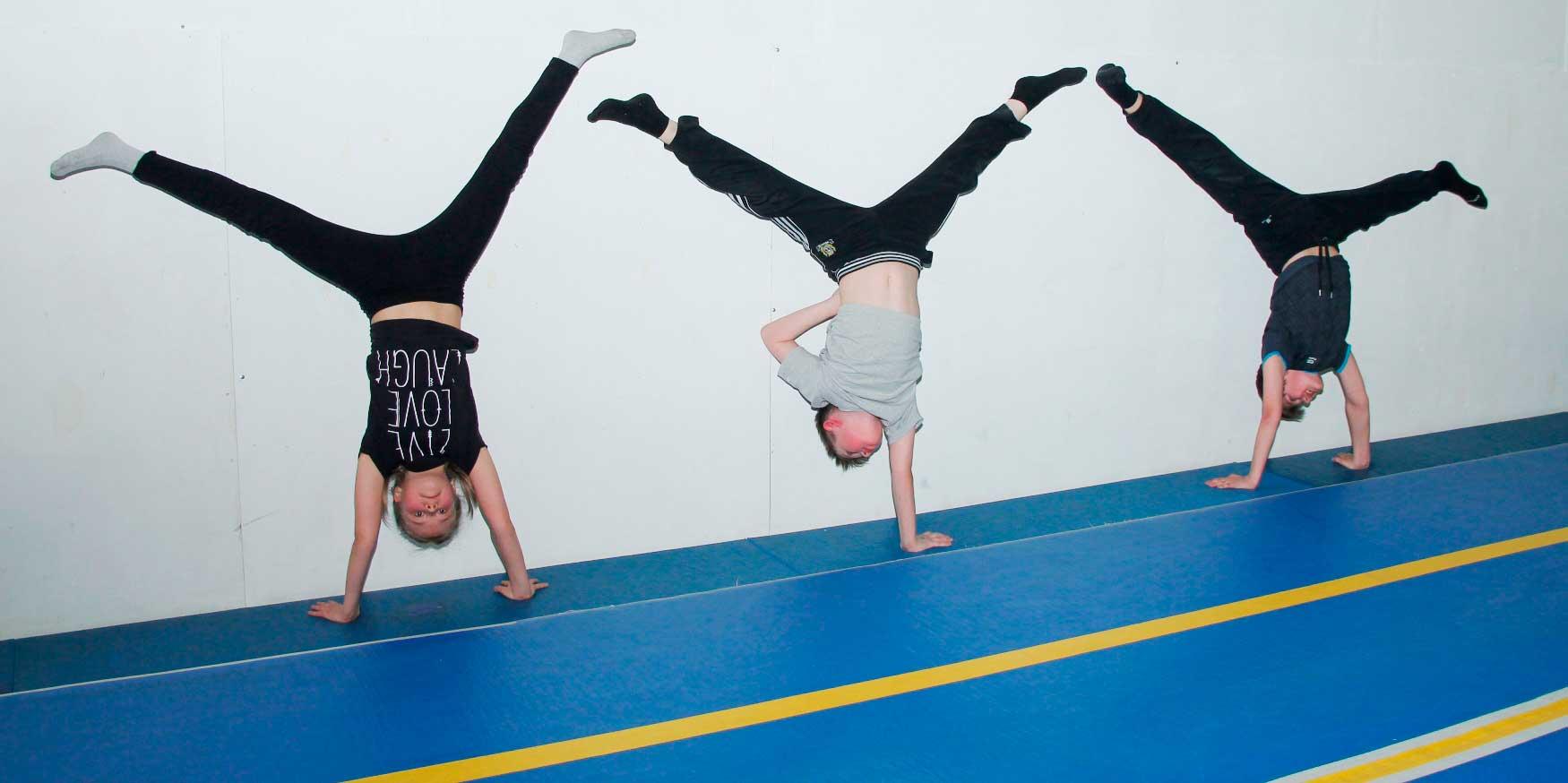 Акробатика для новичков в Архангельске